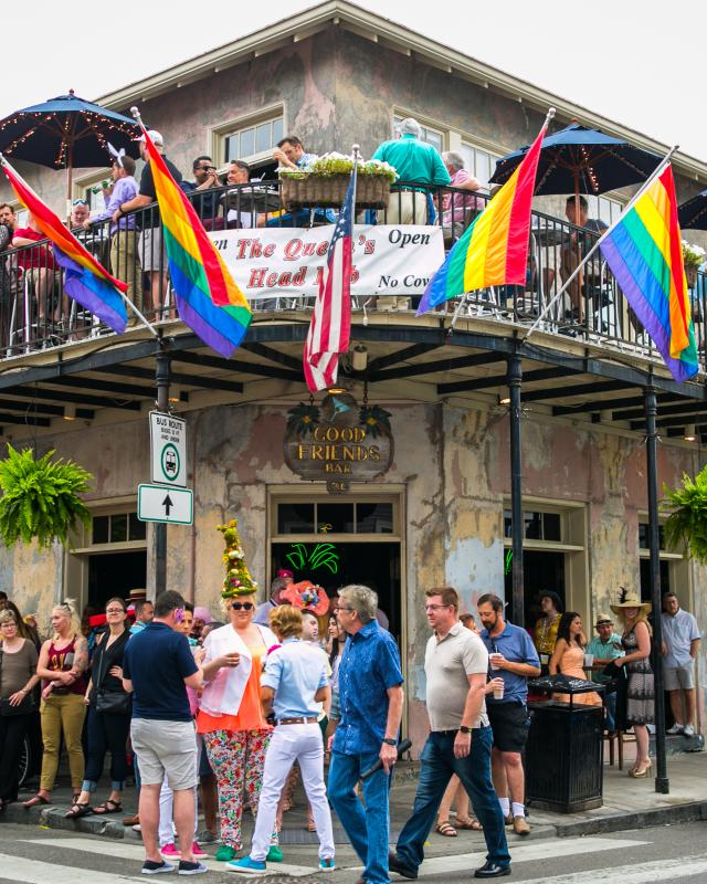 orleans gay community New