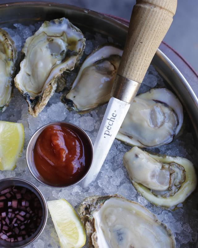 Peche Oysters