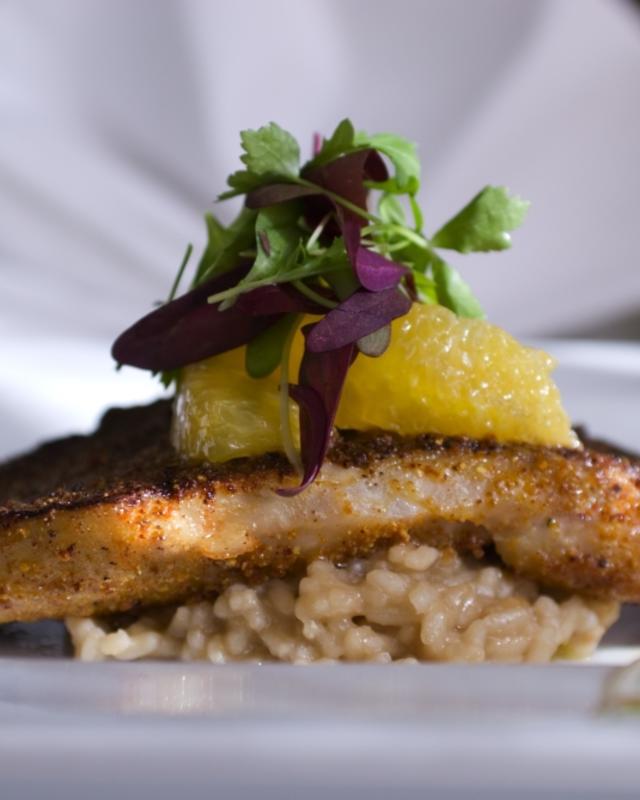 Satsuma Crushed Fish at Commander's Palace Seafood
