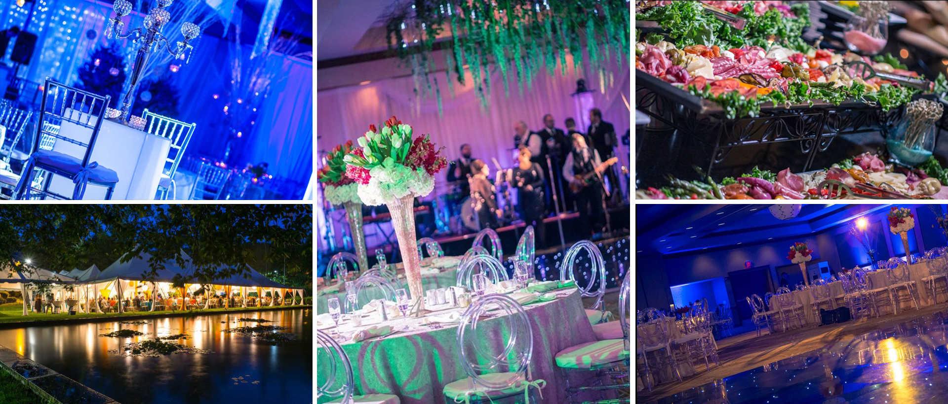 Photos of wedding venues in Lackawanna County, PA.