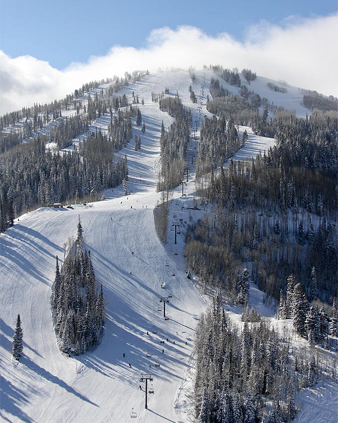Deer Valley Bald Mountain Groomed trails