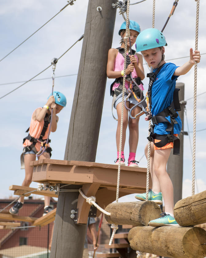 Kids Rope Course at Park City Mountain
