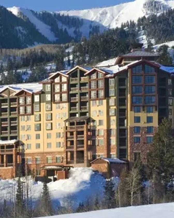Grand Summit Hotel in the winter