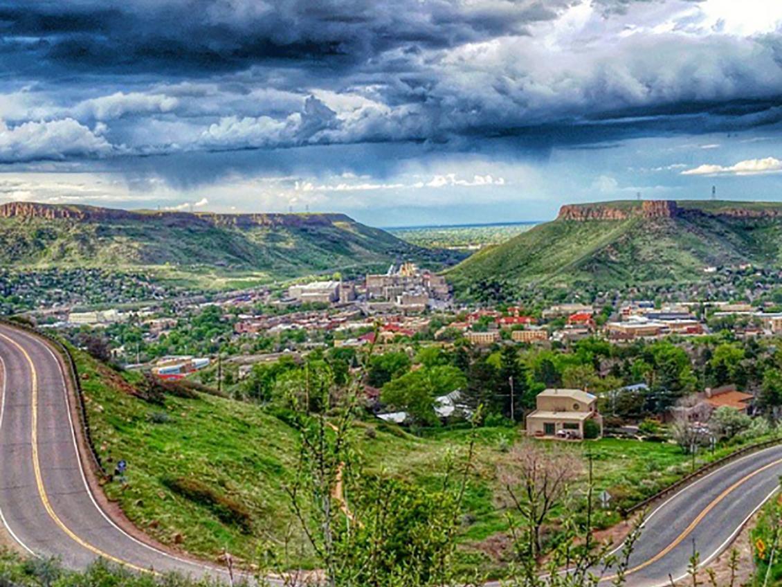 four scenic drives around golden, colorado