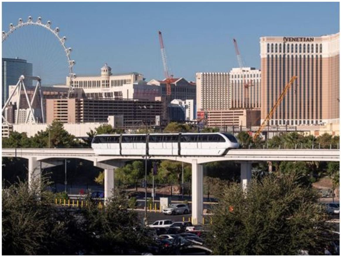 Las Vegas. Monorail