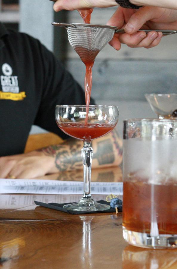 Great Northern Distilling Pour