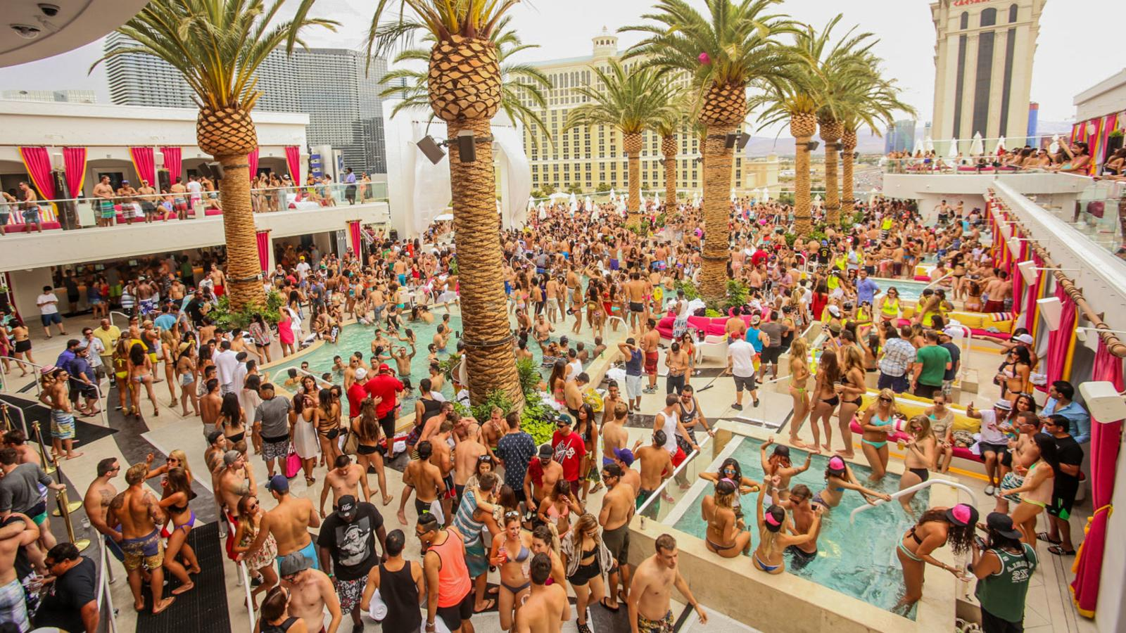 12 Las Vegas Pool Party Scenes