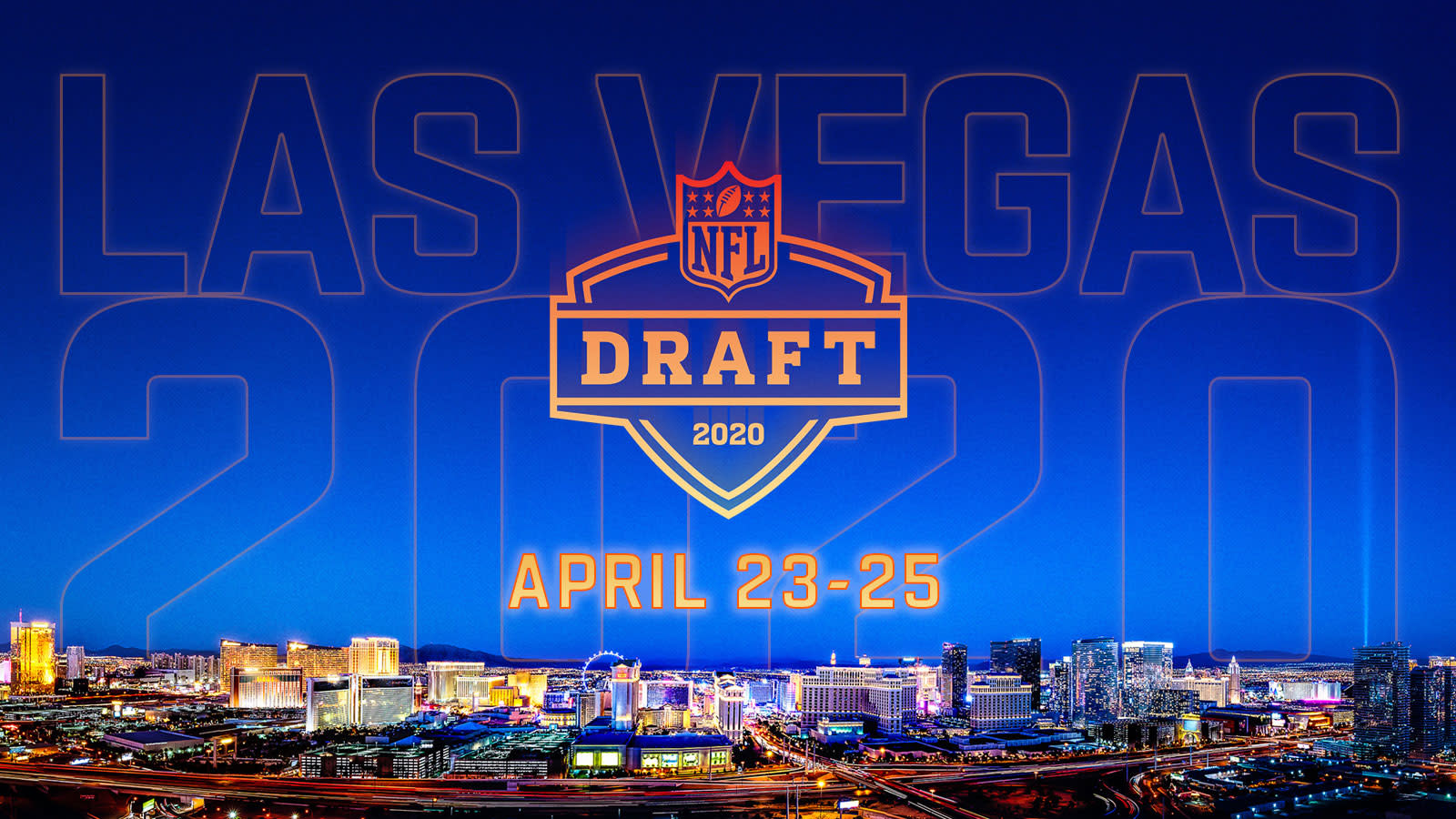 Image result for 2020 nfl draft las vegas