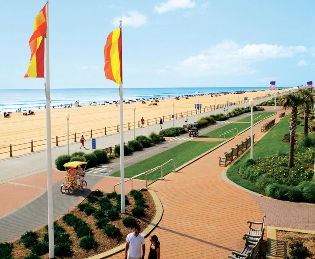 Oceanfront Attractions Boardwalk Virginia Beach S