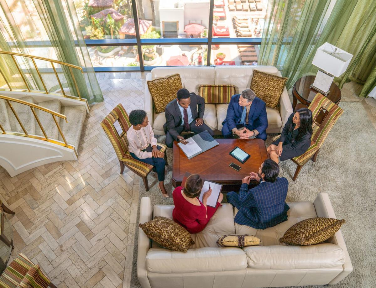 Business Meeting in Golden Nugget Suite