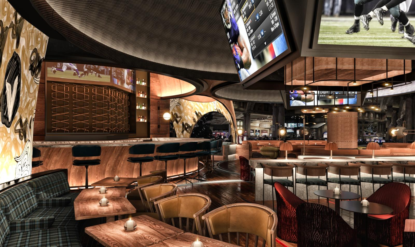 Stadia Bar at Caesars Palace