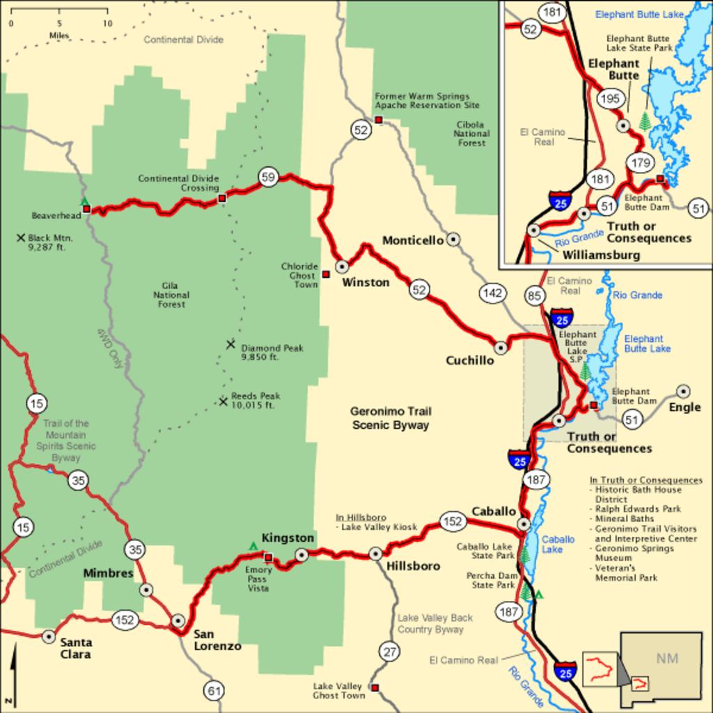 Geronimo Trail