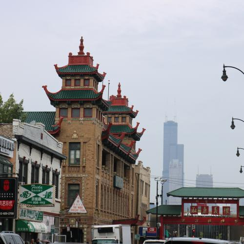 Chinese architecture in Chinatown