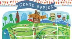 Grand Rapids Brewery Map Craft Breweries in Grand Rapids, MI | Bars, Brewpubs & Restaurants