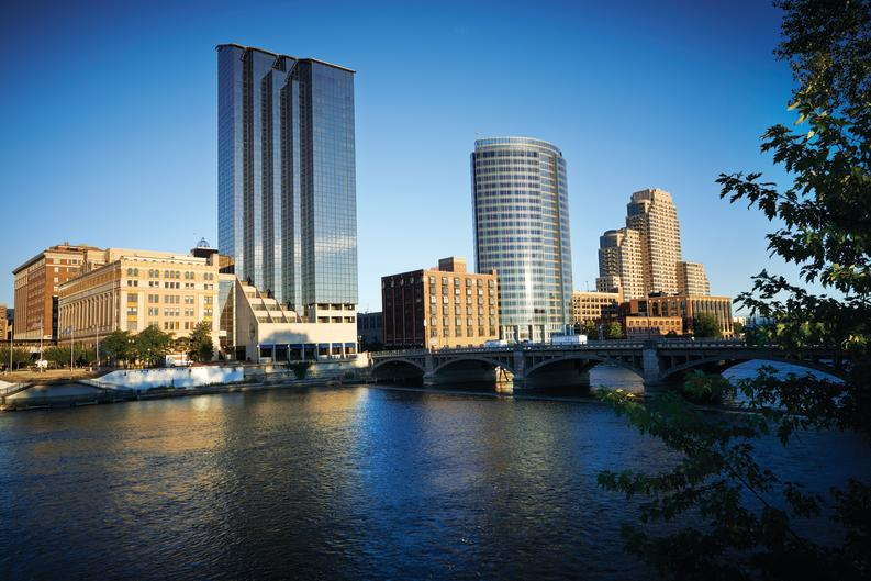 Grand Rapids venues and hotels focus on reducing the amount of waste going to the landfill, among other sustainability efforts.