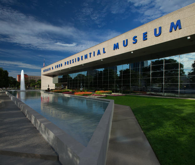 Gerald R. Ford Presidential Museum offers plenty to explore, both inside and out.