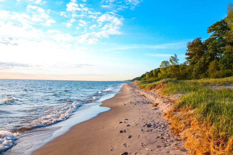 Easy access to the fresh water ocean of Lake Michigan means West Michigan is ripe for food production.