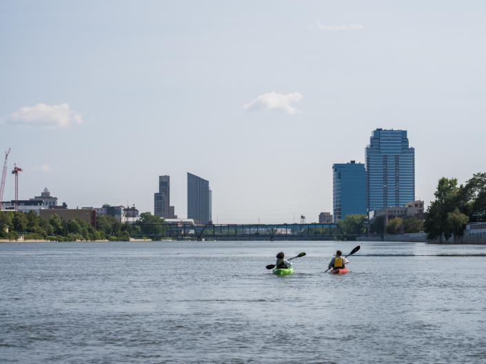 In 1991, the city of Grand Rapids implemented a $400 million overhaul of its wastewater collection system to prevent sewage overflows and keep the Grand River clean.