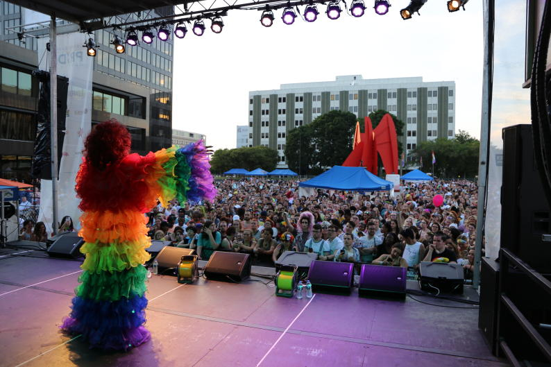 "Grand Rapids Pride Festival's theme for 2019 is ""Proud to Be."""