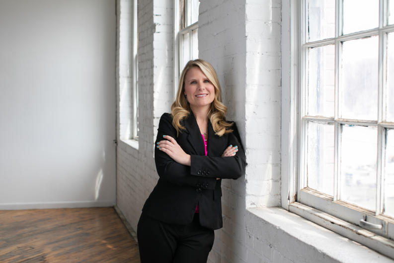 Andie Newcomer, Director of Events at Experience Grand Rapids, 2019.