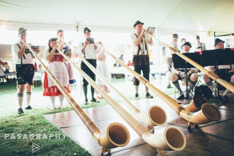 The annual Oktoberfest Grand Rapids takes place at John Ball Park.