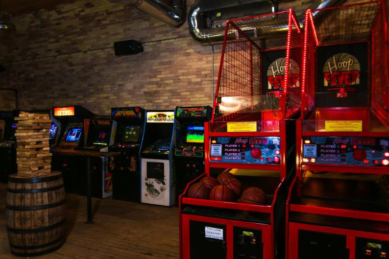 Grand Rapids Brewing Co. has a room dedicated to a variety of games.