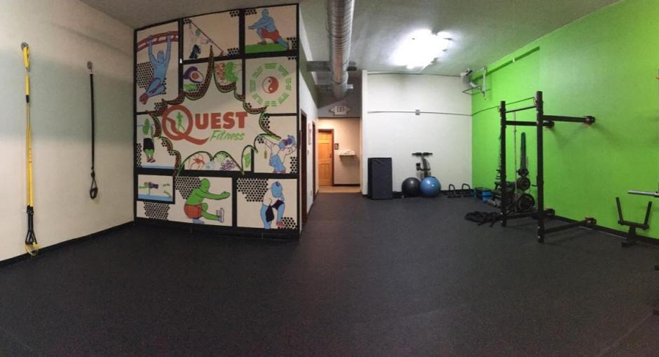 Quest Fitness has massage therapy onsite, so after class, you can get your sore muscles worked out.