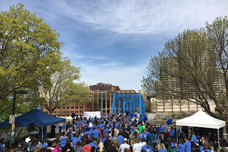 Hope Network Bridge Walk for Autism