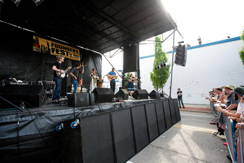 Enjoy craft beer, great food, and live music during Founders Fest.