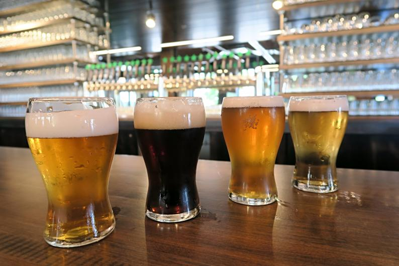 City Built Brewing Co. is setting standards high with its craft beer selection combined with Puerto-Rican food from family recipes.
