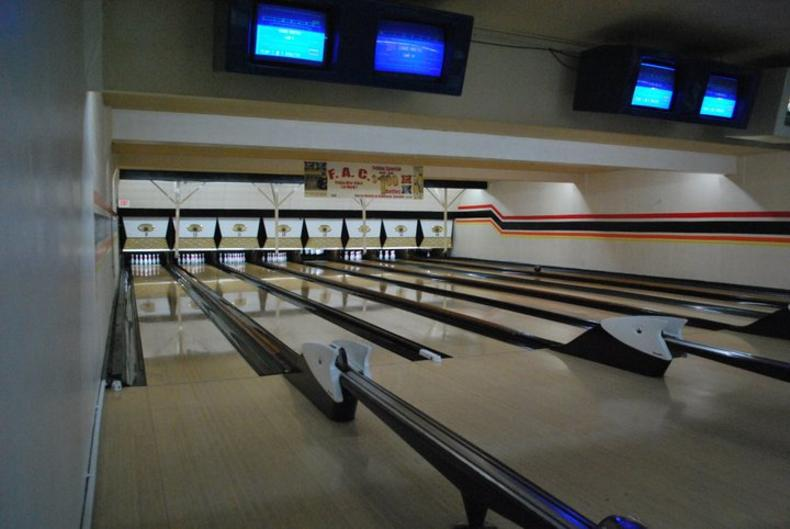 The second floor of Wenger's Bowling features 8-lanes and is perfect for private parties.