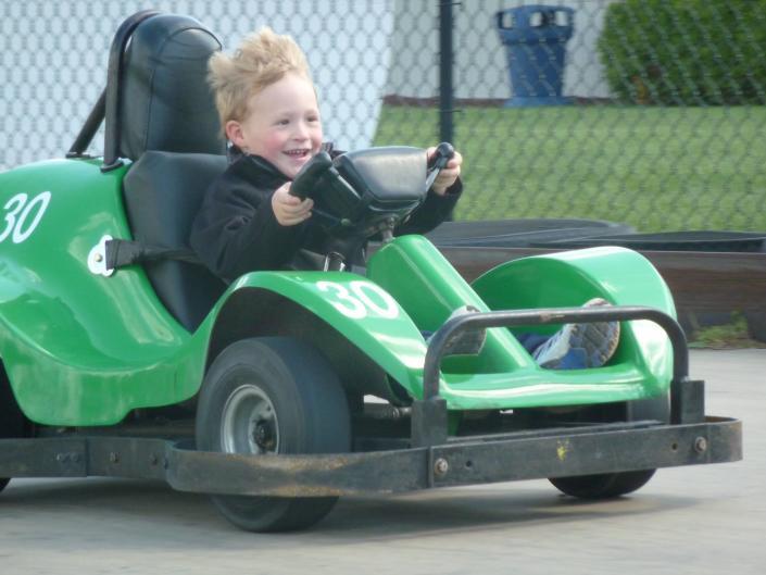 AJ's Family Fun Center go-kart