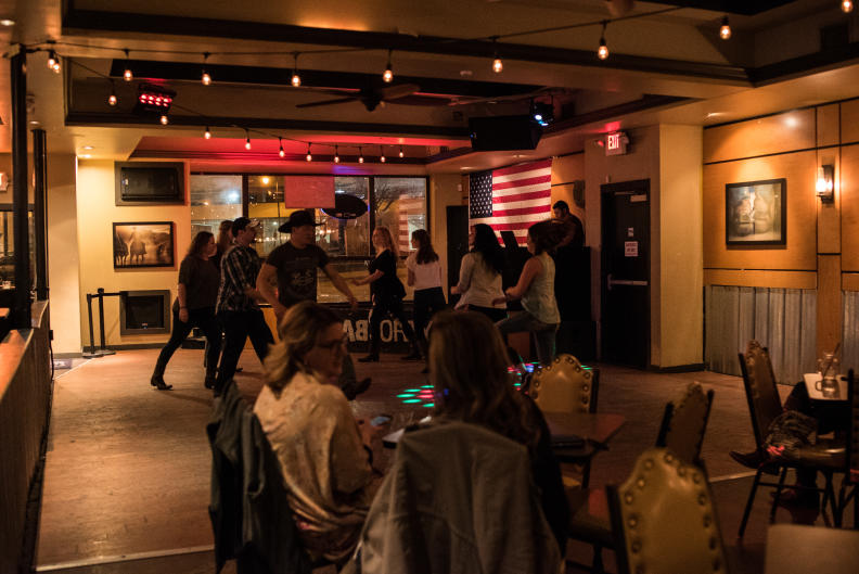 Located downtown Grand Rapids, Back Forty Saloon is known for its country atmosphere and live performances.