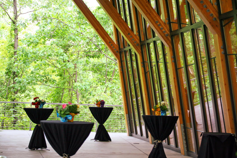 Attendees met at the zoo's event space, Bissell Tree House, during the conference as well as the Amway Grand Plaza.