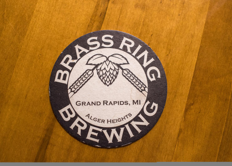 Fact: Brass Ring Brewing's spent grain is fed to the hungry cows in Cedar Springs.