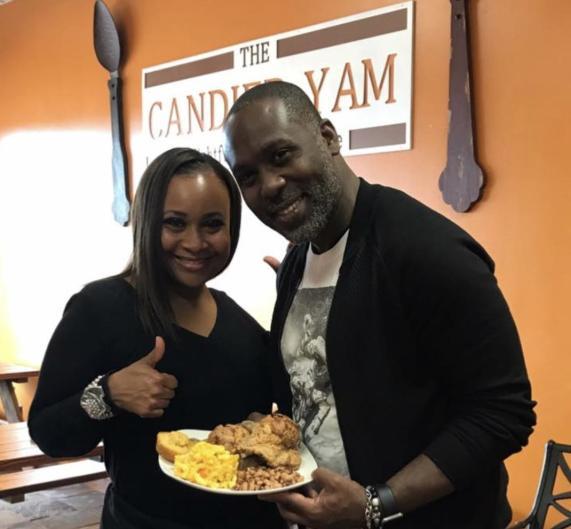 The Candied Yam is a partnership between Jessica Ann Tyson (pictured left) and Jermone T Glenn (pictured right) as a joint venture to serve southern cuisine to Grand Rapidians.