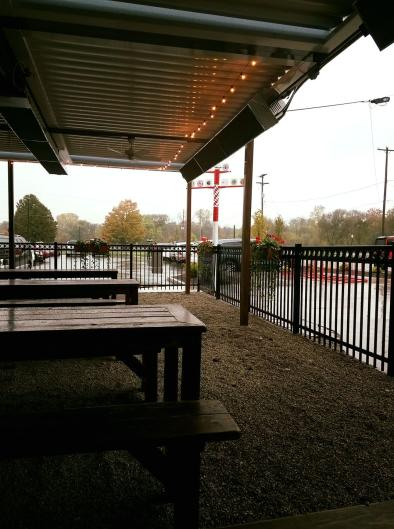 Rain or shine, Cedar Springs Brewing Co. is a great place for folks of all ages to gather!