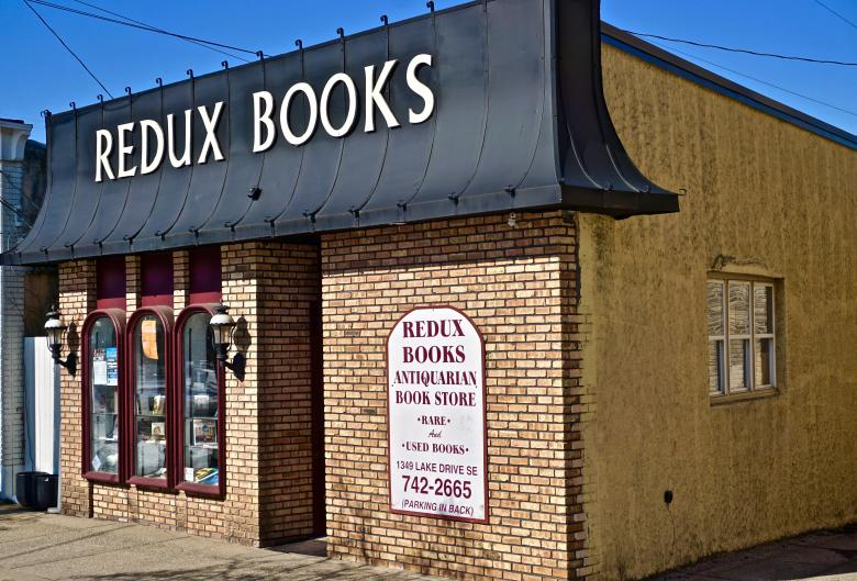 Redux Books offers stacks of used books in many genres, including collectible, antique editions.
