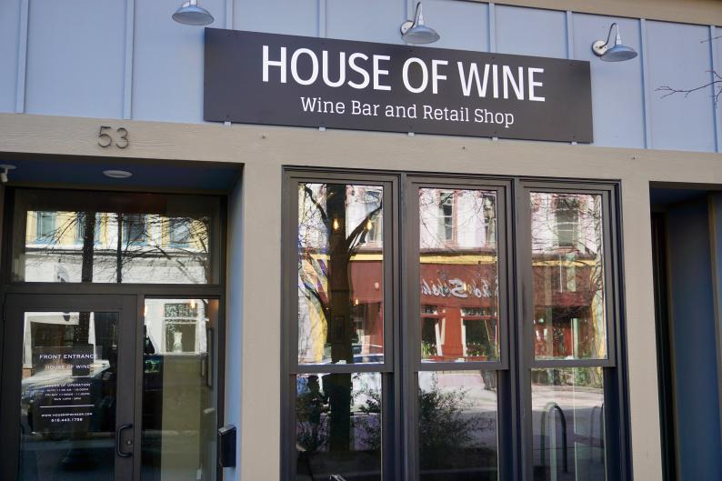 At House of Wine, you can build your own charcuterie board to pair with your wine.