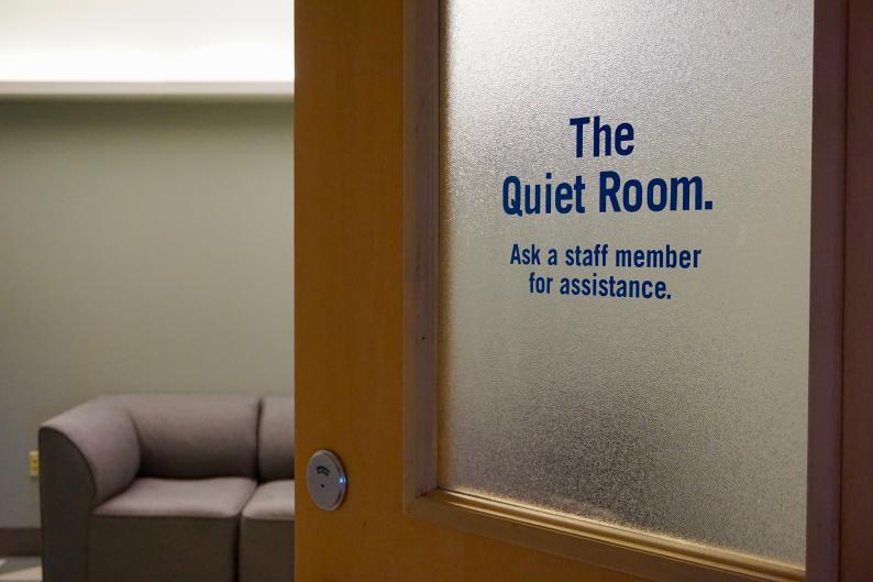 Quiet room at Grand Rapids Public Museum