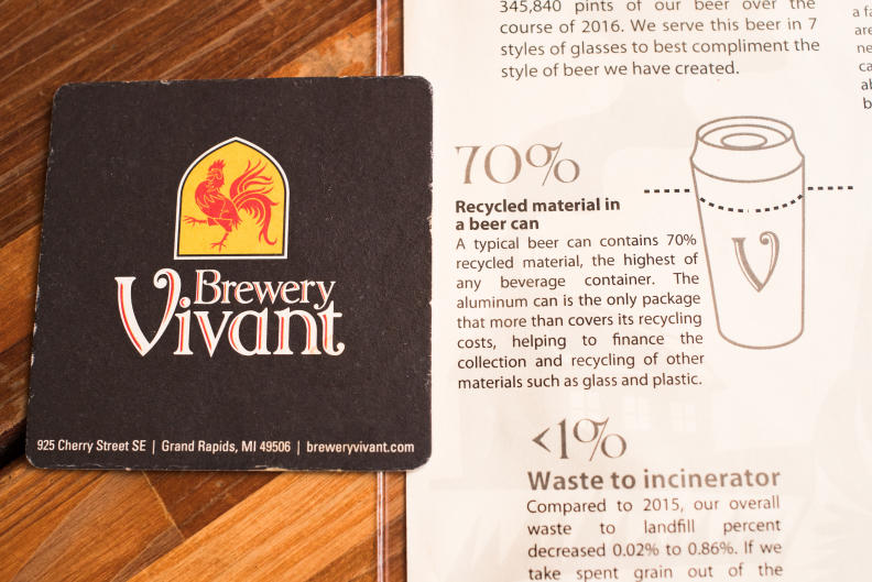 Brewery Vivant - Recycled Materials