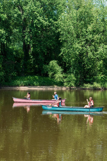 There are plenty of canoe rental companies in Kent County and West Michigan.