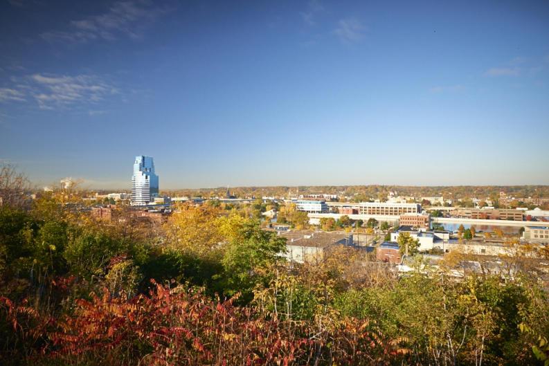 Downtown Grand Rapids Fall
