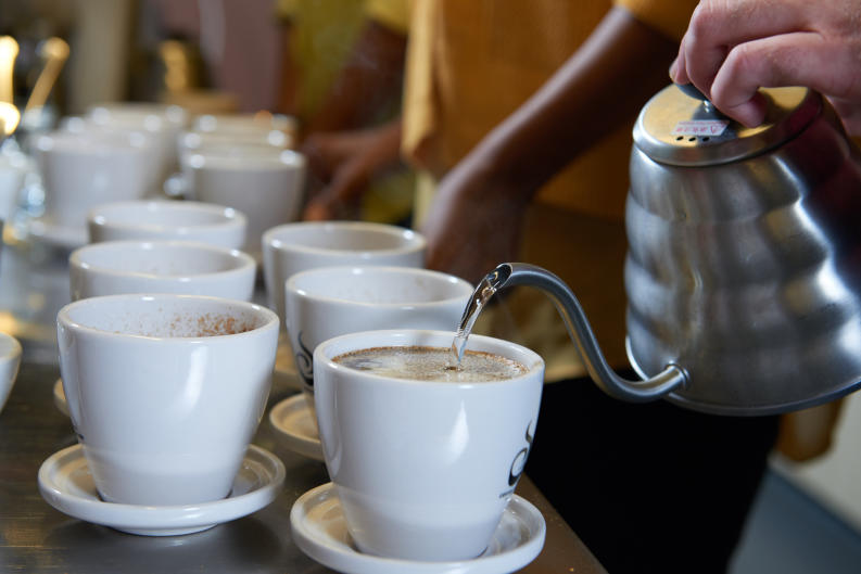 Ferris Coffee & Nut Co. hosts coffee classes and tours at the Ferris Coffee Lab