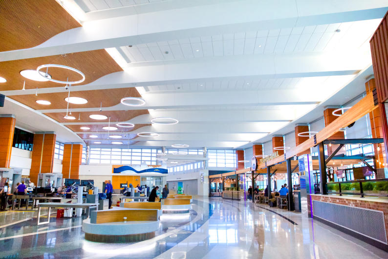 Fact: Gerald R. Ford International Airport has five meeting venues that can accommodate parties ranging from 8 to 50 guests!