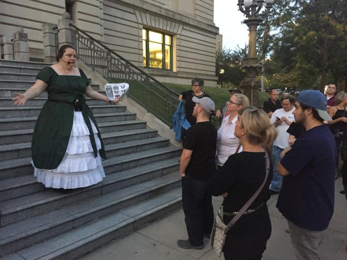Due to its popularity, it's recommended that you pre-register for Ghosts of Grand Rapids Tours.