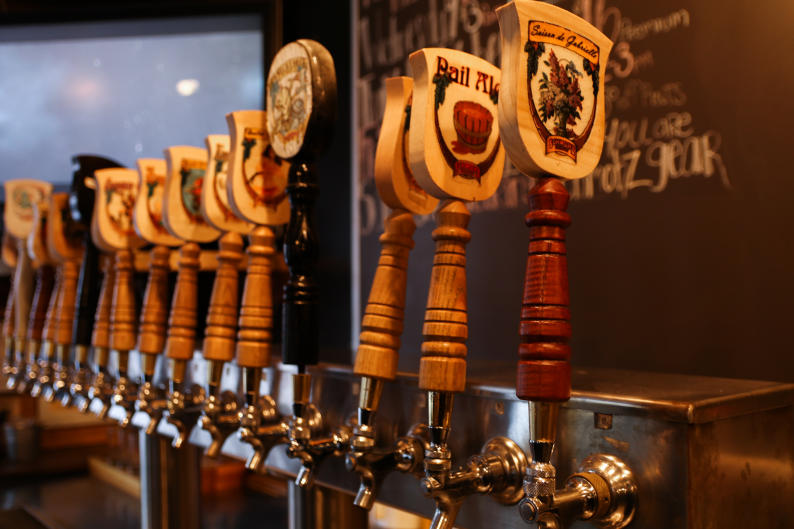 With 16 taps and varying brew styles, Schmohz pours beer for almost any taste preference.