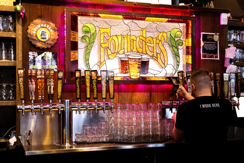 """Founders' focus on beer that's """"Brewed For Us"""" lead to the creation of brews like Dirty Bastard and Kentucky Breakfast Stout."""