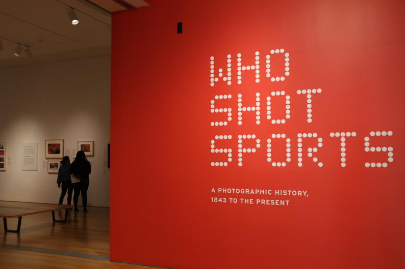 "The ""Who Shot Sports: A Photographic History, 1843 to the Present"" displays over 200 images of legendary athletes."