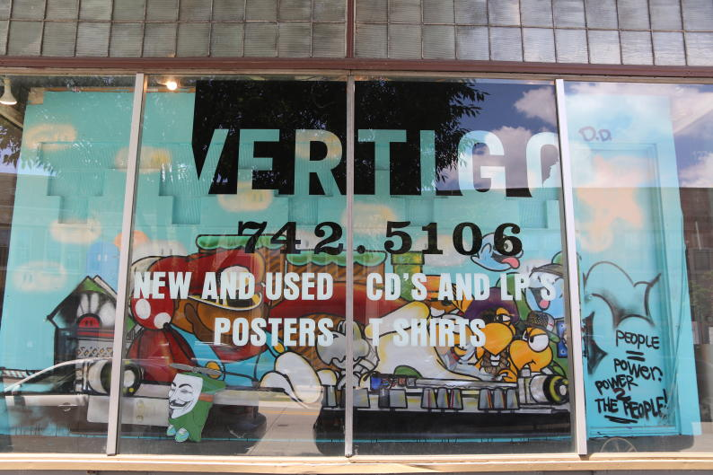 You can find more than 26,000 new records and around 10,000 used records at Vertigo Music.